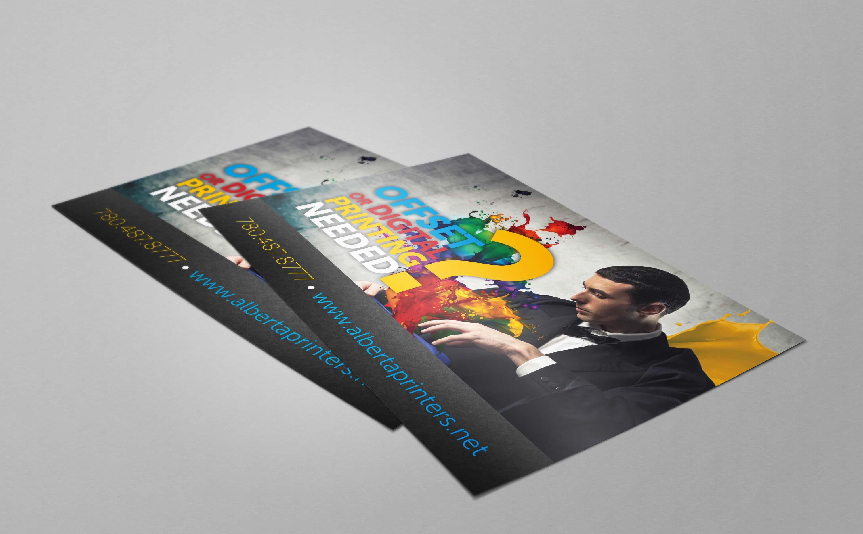 Postcards printing in edmonton