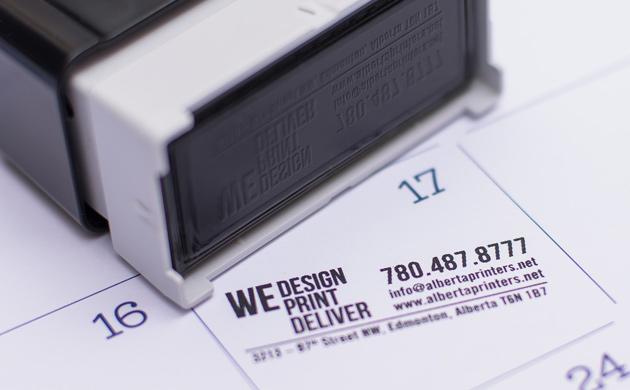 Custom Stamps Sample