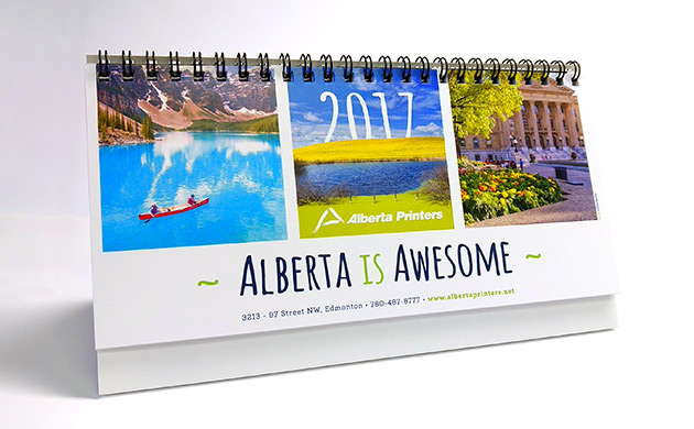 Desk Calendar Printing Front Page