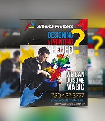 Flyers Printing with Alberta Printers